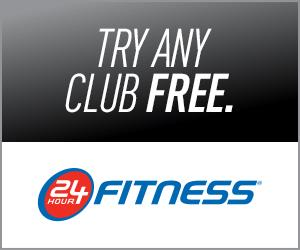 FREE Pass to 24 Hour Fitness..