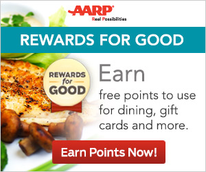 AARP Rewards For Good...