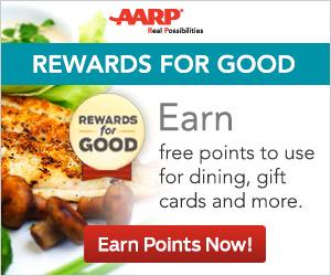 AARP Rewards For Good...