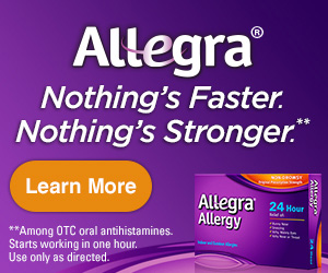 FREE Sample of Allegra Allergy...