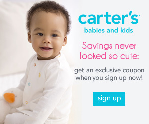 Image: Join the carter's family today for exclusive offers, coupons, sneak peeks and more