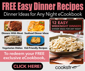 FREE COOKSTR Email Newsletter.