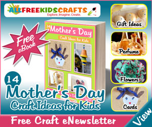 FREE Kids Craft for Mother's Day