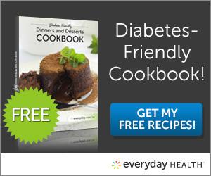 FREE Diabetes Friendly Dinners...