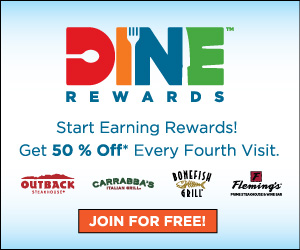Dine Rewards...