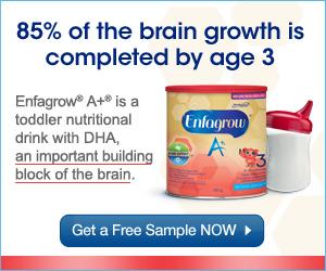 FREE  Enfamil Enfagrow Sample.