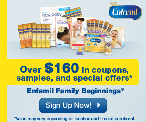 Free Samples from Enfamil Family Beginnings