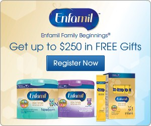 FREE Enfamil samples worth $25...