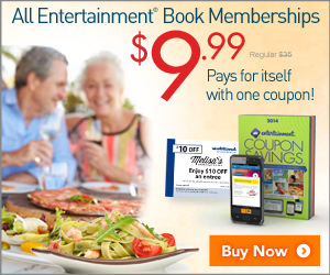 Entertainment Book - $5 Sale..