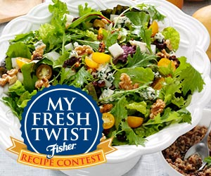 Fisher Recipe Contest - Win a Trip to NYC