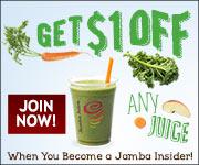 Image: Jamba Juice Printable Coupon