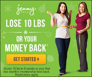 Jenny Craig: 50% + $50 Off...