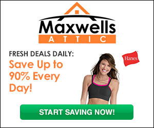 $5 Off Your $10 Purchase at Maxwell's Attic + Deals up to 90% Off & Free Shipping