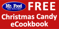 Sign up and receive Mr. Food Christmas Candy Recipes eCookbook.