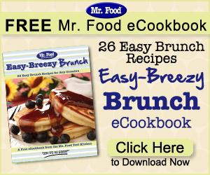Mr Food Cookbook