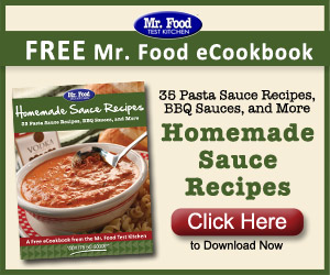 FREE Mr. Food Homemade Sauce R...