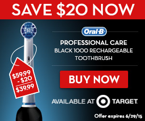 Oral-B at Target Father's Day Sale!