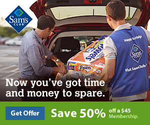 Sam's Club Membership - Save 50%