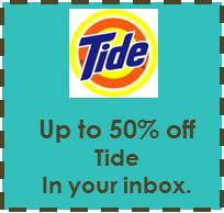 FREE Tide Coupons