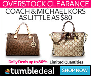 80% off Gifts You Want at Tumble Deal