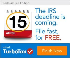 FREE Turbo Tax...