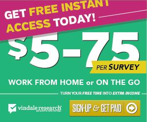 HUGE FREE Cash for Surveys!