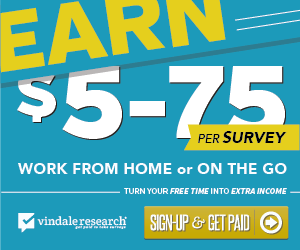 Vindale Research - Free Paid Surveys