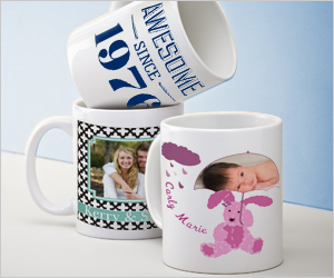 Vistaprint: Customized Mugs Only $5.99 + FREE Shipping for New Customers