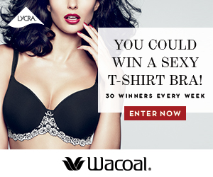 Win One of 30 FREE Wacoal Bras Per Week!
