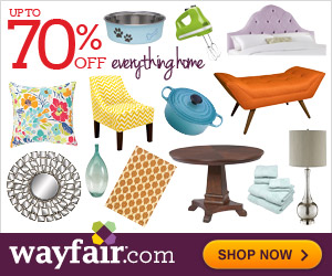 Save up to 70% on Everything for Your Home at Wayfair + Get Your Promo Code