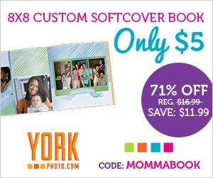 Custom 8X8 Softcover Book for.