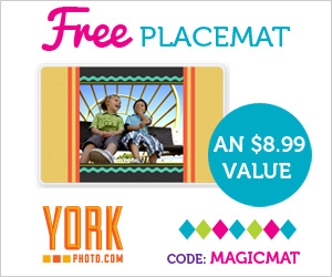 FREE Custom Placemat from York...