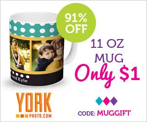 York Photo: $1.00 Custom Mug..