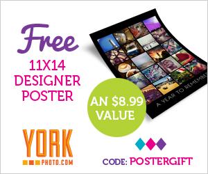 FREE Custom Designer Poster...