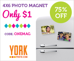 York Photo: $1 4x6 Photo Magne...
