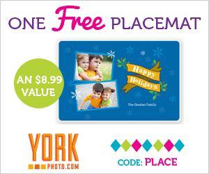 FREE Personalized Placemat