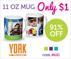York Photo: $1 Custom Mug...