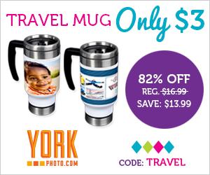York Photo $3 Travel Mug...