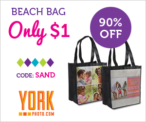 York Photo $1 Beach Bag {New C...
