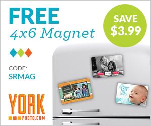 FREE Custom 4x6 Magnet!