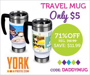 York Photo: $5 Travel Mug...