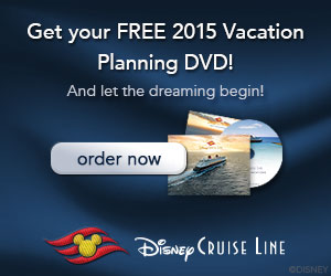 FREE Disney Cruise Line Vacation Planning DVD!