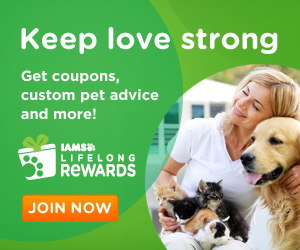 Join Iams Lifelong Rewards to Get Coupons, Custom Pet Advice and More Freebies!