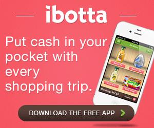 Ibotta allows you to earn cash each time you shop.