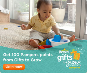 Pampers Gifts to Grow: New 10 Point Code + 100 more points!