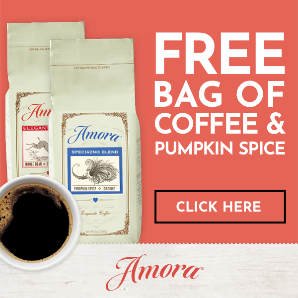 2 Free Bags of Coffee