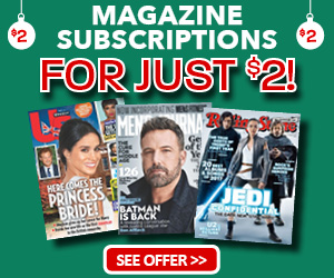 Blue Dolphin - $2 Magazine Offer