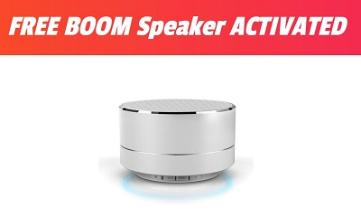 BOOM Speaker - Just Pay S&H
