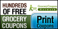 Sign up and receive coupons, exclusive offers and top deals from Grocery Coupon Network.