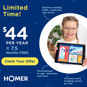 HOMER - New Special Price!